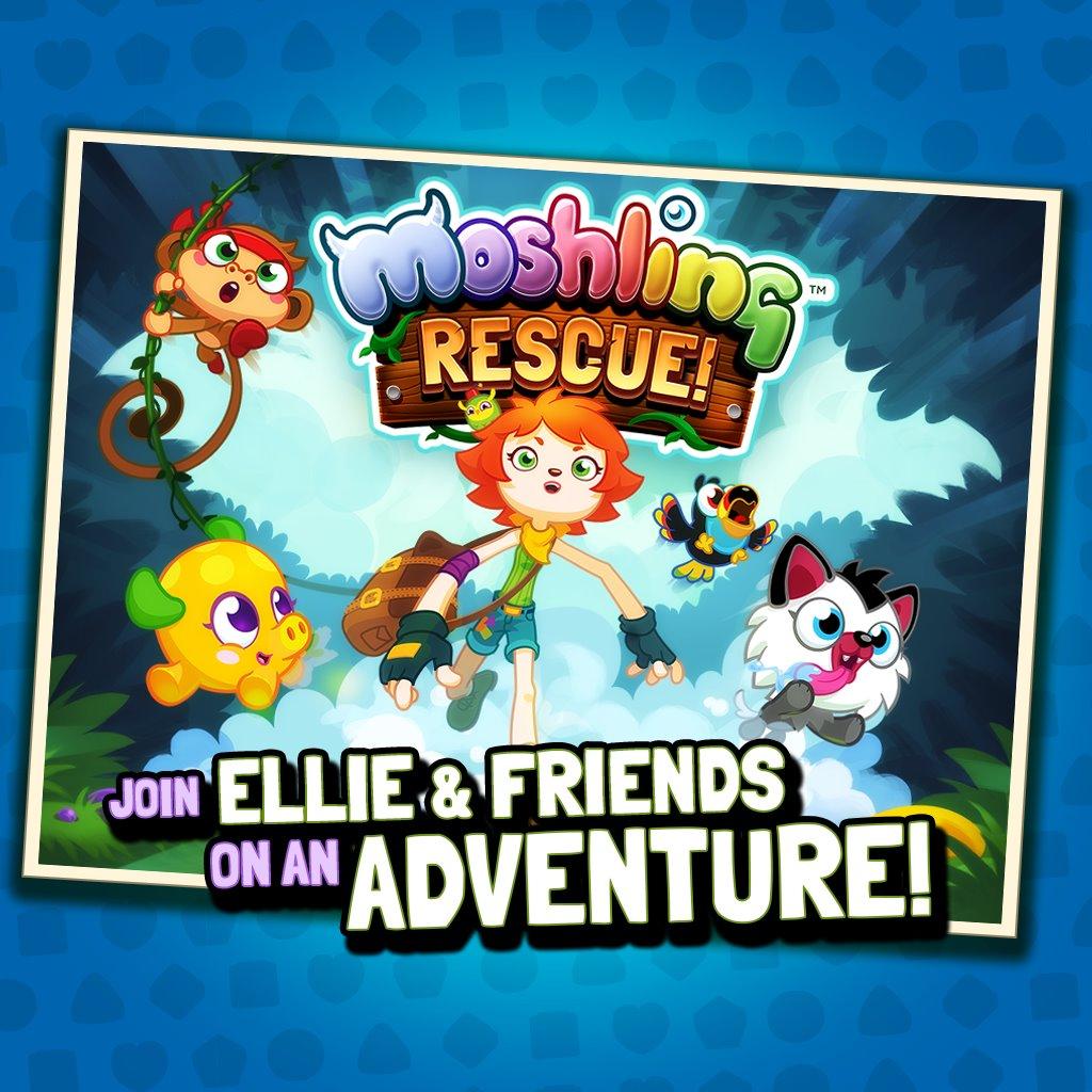 英Mind Candy、Facebookにて子供向け仮想空間「Moshi Monsters」をモチーフとしたパズルゲームを提供開始1