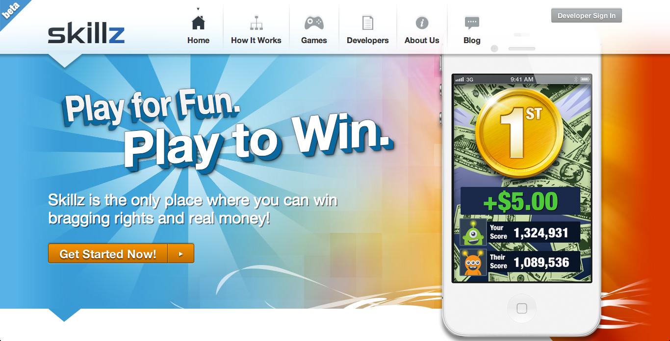 ゲームで勝つと現金で賞金が貰えるスマホ向けゲームプラットフォーム「Skillz」、iOS向けサービスも開始