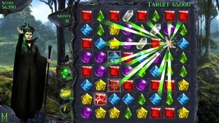 ディズニー、映画「マレフィセント」のスマホゲーム「Maleficent Free Fall」をリリース2