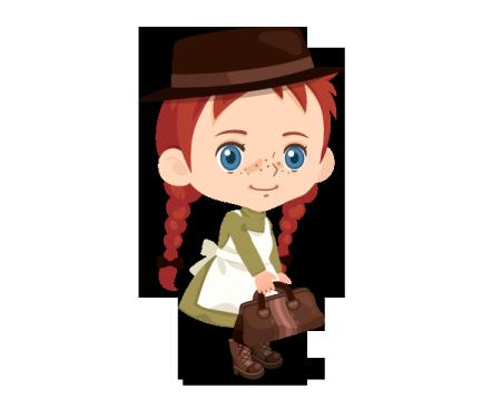 LINE Playに名作アニメ「赤毛のアン」の公式ルームが登場2