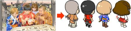 サミーネットワークス、ラーメン店経営シミュレーションゲーム「ラーメン魂」にてテレビ東京の「神アプリ@隆盛紀-ONLINE-」とコラボ2