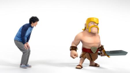 Supercell、6/1よりスマホ向け戦闘シミュレーションゲーム「Clash of Clans」の日本独自TVCMを放送2