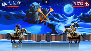 ロシアのAlawar EntertainmentがLINE GAMEに進出 リアルタイム一騎打ちゲーム「LINE シェイク・スピア」をリリース2