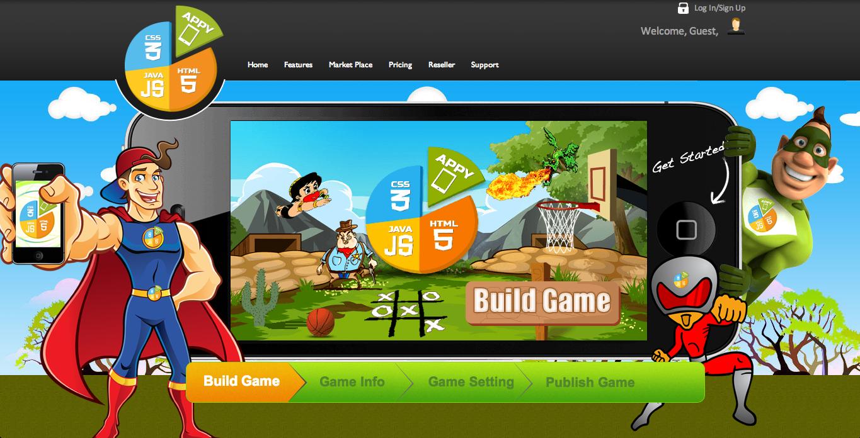 米Appy Pie、コーディング不要で簡単にスマホゲームが作れる開発ツール「Game Builder」をリリース