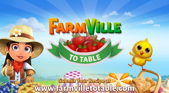 Zynga、農業ソーシャルゲーム「FarmVille 2」にてユーザーからレシピを募集し料理本を製作