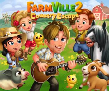 Zynga、農業ソーシャルゲーム「FarmVille 2」のスマホ版にてミュージシャンのキース・アーバンとコラボ
