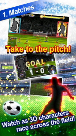 KONAMI、スマホ向けサッカーシミュレーションゲーム「ワールドサッカーコレクションS」の海外版「PES MANAGER」をリリース3