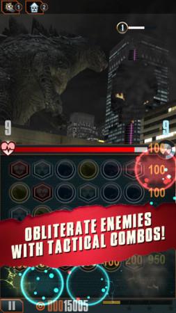米Rogue Play、ハリウッド映画版「ゴジラ」の公式スマホゲーム「Godzilla - Smash3」をリリース2
