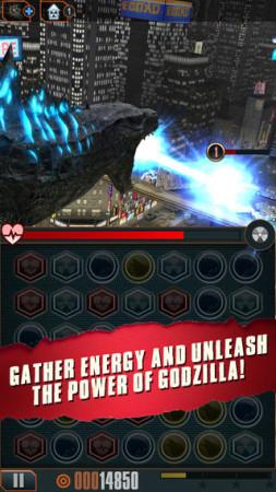 米Rogue Play、ハリウッド映画版「ゴジラ」の公式スマホゲーム「Godzilla - Smash3」をリリース3