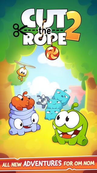 中国のYodo1とロシアのZeptoLab、スマホ向け物理パズルゲーム「Cut the Rope 2」の韓国語版をカカオトークにて提供決定
