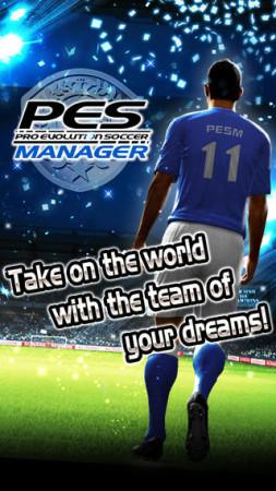 KONAMI、スマホ向けサッカーシミュレーションゲーム「ワールドサッカーコレクションS」の海外版「PES MANAGER」をリリース1