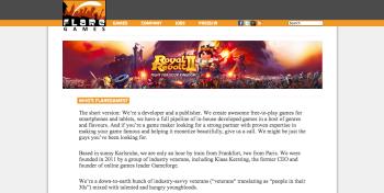 ドイツのモバイルゲームディベロッパーのFlaregames、1220万ドルを調達