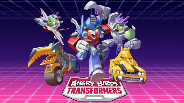Angry Birds、今度はトランスフォーマーとコラボ!1