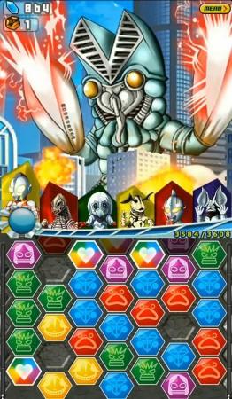 バンダイナムコゲームス、ウルトラマンのスマホ向けパズルアクションゲーム「ウルトラマン パズル魂」の事前登録受付を開始3