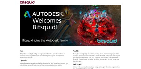 Autodesk、スウェーデンのゲームエンジンメーカーのBitsquidを買収