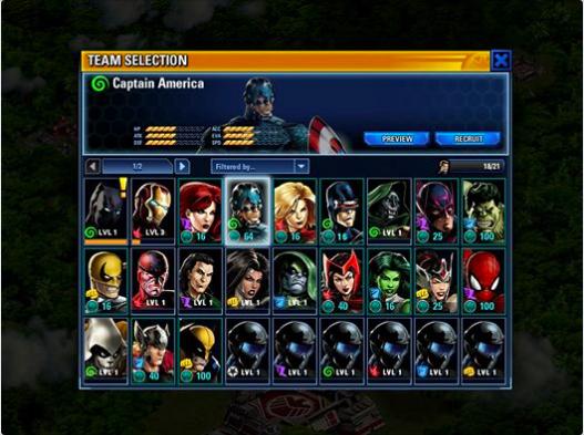 ディズニー、Facebookにてマーベル・ヒーローが戦うタクティカルバドルゲーム「Marvel: Avengers Alliance Tactics」をリリース2