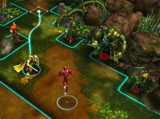 ディズニー、Facebookにてマーベル・ヒーローが戦うタクティカルバドルゲーム「Marvel: Avengers Alliance Tactics」をリリース1