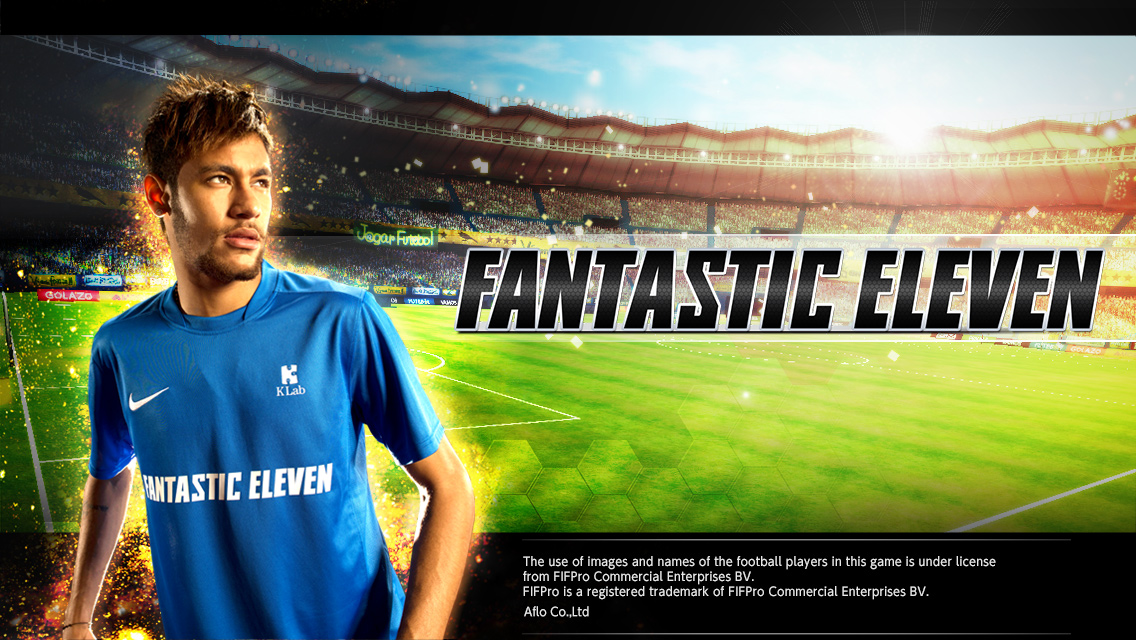 KLab、スマホ向けサッカーゲーム 「ワールドプロサッカー ファンタジックイレブン」の海外版「Fantastic Eleven」をリリース1