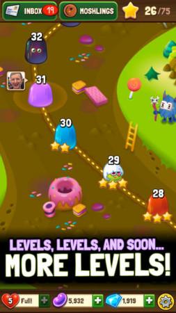 英Mind Candy、子供向け仮想空間「Moshi Monsters」のパズルゲーム「Moshling Rescue!」のiOS版をリリース3