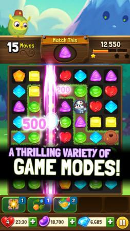 英Mind Candy、子供向け仮想空間「Moshi Monsters」のパズルゲーム「Moshling Rescue!」のiOS版をリリース2