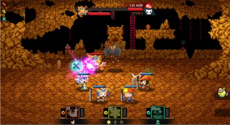 スマホ向けRPG「ポケットキングダム」に最弱主人公「スペランカー」が登場!1