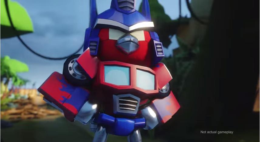 Rovio、コミコンにて「Angry Birds Transformers」と「Angry Birds Stella」の予告動画を公開