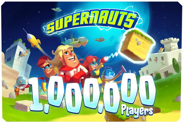 フィンランドからまた凄いスマホゲームが出たかも?! Grand Cruの第一弾タイトル「Supernauts」、リリースから6日で100万ダウンロードを突破1