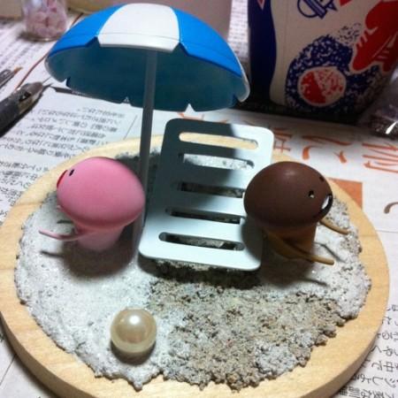【夏休み特別企画】「なめこの夏休み」をテーマにフィギュアを作ってみよう! Vol.3_12
