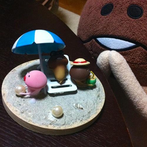 【夏休み特別企画】「なめこの夏休み」をテーマにフィギュアを作ってみよう! Vol.4_7