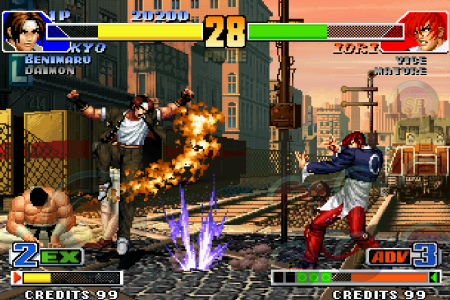 SNKプレイモア、「THE KING OF FIGHTERS '98」のAndroidアプリ版をリリース1