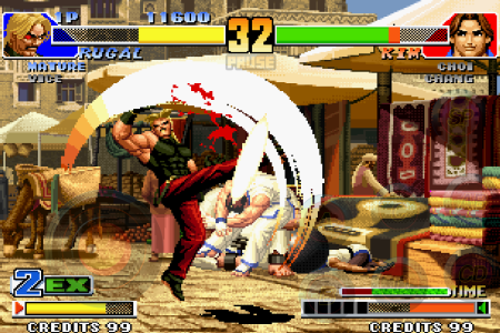 SNKプレイモア、「THE KING OF FIGHTERS '98」のAndroidアプリ版をリリース3