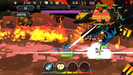 ガンホーのスマホ向け新作アクションRPG「ピコットキングダム」、100万ダウンロードを突破2