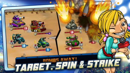 DeNA、グローバル版Mobageにて戦車対戦ゲーム「Super Battle Tactics」をリリース3