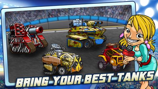 DeNA、グローバル版Mobageにて戦車対戦ゲーム「Super Battle Tactics」をリリース1