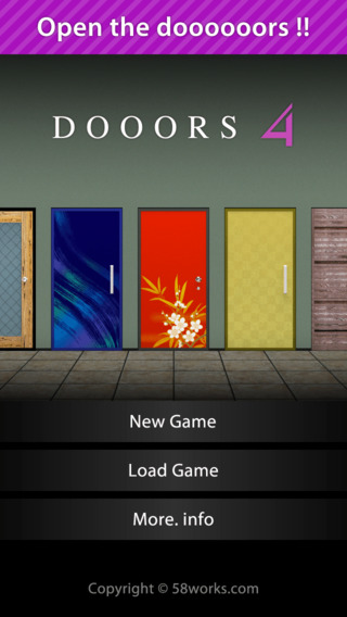 58 WORKS、スマホ向け人気脱出ゲーム 「DOOORS」のシリーズ第4弾をリリース1