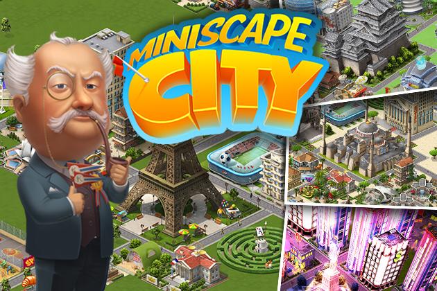 クルーズ、スマホ向け街作りシミュレーションゲーム「Miniscape City」のiOS版をスウェーデンにて先行配信1