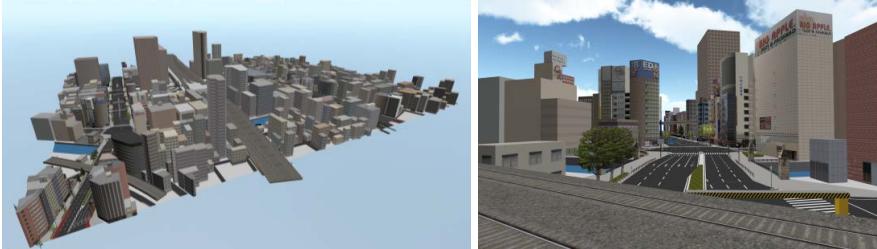 ゼンリン、国内主要都市の街並みを再現した3D都市モデルデータをゲーム開発企業などに提供1