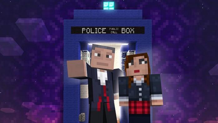 イギリスのSFドラマシリーズ「ドクター・フー」、9月よりXbox 360版Minecraftにてスキンパックを発売