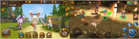アプリボット、スマホ向けフル3Dアクションゲーム「大乱闘RPG ガーディアンハンター」のAndroid版をリリース2
