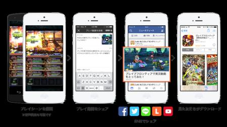 「Lobi」と「ブレイブ フロンティア」がサービス連携 実況プレイ録画機能「Lobi REC SDK」とコミュニティ機能を搭載2