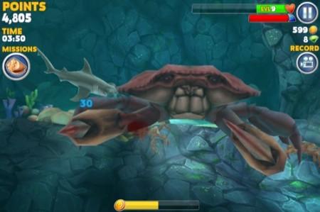 【やってみた】夏だ!海だ! 鮫になって人間を食べる動物なりきりゲーム「Hungry Shark Evolution」21