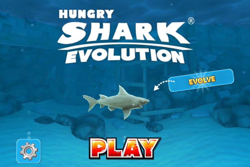 【やってみた】夏だ!海だ! 鮫になって人間を食べる動物なりきりゲーム「Hungry Shark Evolution」1
