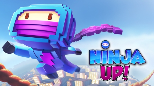 ゲームロフト、スマホ向けカジュアルゲーム「Ninja UP! ~ニンジャアップ!~」のAndroid版をリリース1