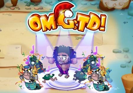 エレクトロポップシンガーのレッドフー、スマホ向けタワーディフェンスゲーム「OMG:TD!」とコラボ
