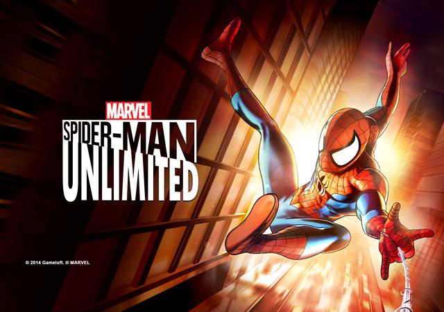 ゲームロフト、スパイダーマンのスマホ向けランニングアクションゲーム「スパイダーマン・アンリミテッド」をリリース