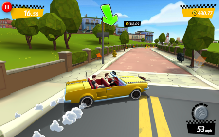 セガネットワークス、「クレイジータクシー」のスマホ向け最新作「Crazy Taxi:City Rush」のAndroid版をリリース2