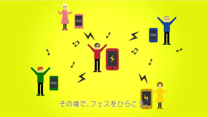 いつでも誰でもフェスができる! カヤック、スマホ向け音楽共有アプリ「FESS」のiOS版をリリース1
