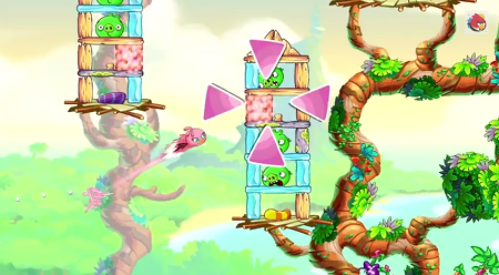 Rovio、Angry Birdsのスピンオフタイトル「Angry Birds Stella」のプレイ動画を公開1