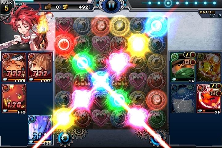 台湾のUnalis、日本市場向けブランド「Ucube.Games」より新作パズルRPG「混沌のミッドランド ~Puzzle Monster~」のiOS版をリリース1
