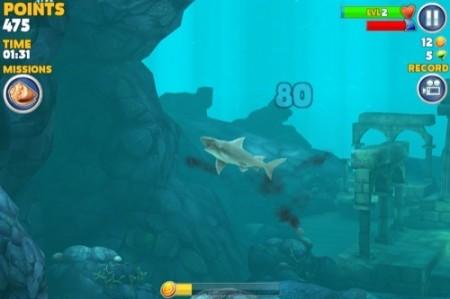 【やってみた】夏だ!海だ! 鮫になって人間を食べる動物なりきりゲーム「Hungry Shark Evolution」3